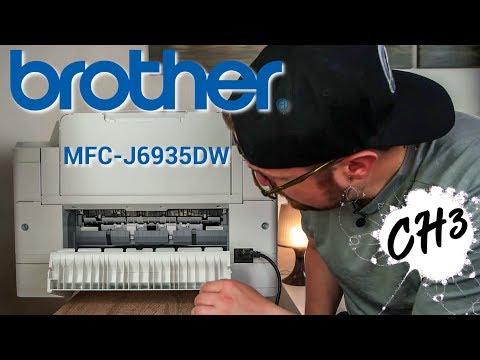 BROTHER MFC-J6935DW Einrichtung DIN A3 Drucker / Scanner / Kopierer (ausführlich) | CH3