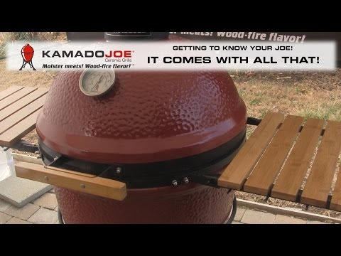 Комплектация Kamado Joe Classic Red