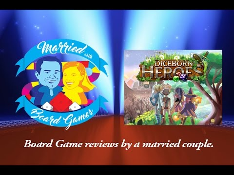 Diceborn Heroes Kickstarter Preview - By Married with Board Games