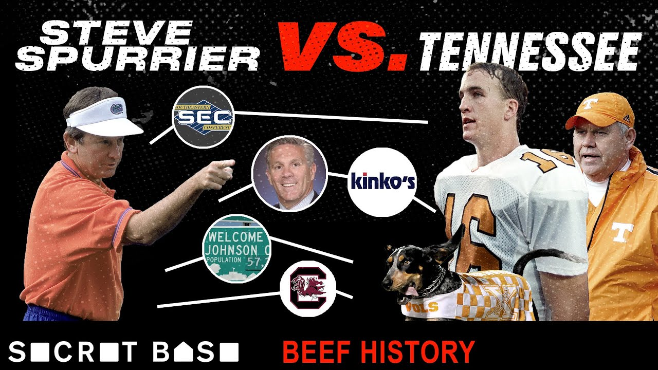 Steve Spurrier, one of Tennessee's greatest sons, became its most hated enemy | Beef History thumbnail