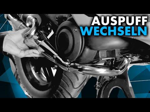 Anleitung: Roller Auspuff wechseln