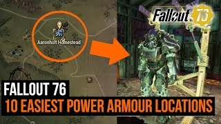 Fallout 76 - 10 easiest power armor locations