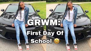 GRWM : first day of school 📚 | LilJava