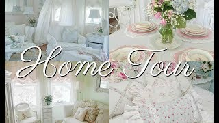 🏡SHABBY CHIC HOME TOUR~Melanie Cottage Of The Month