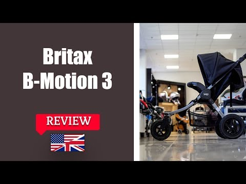 Britax B Motion 3 – Stroller FULL Review