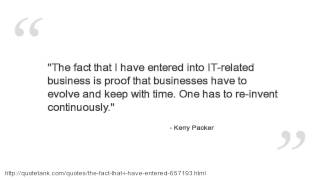 Kerry Packer Quotes