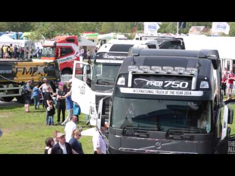 Volvo Trucks at Truckfest Peterborough