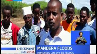Roads destroyed following floods in Mandera