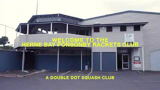 Double Dot Squash Partners with the Herne Bay Ponsonby Rackets Club