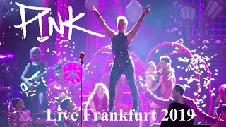 P!nk   11 Complete Songs   Beautiful TRAUMA Tour   Live @ Commerzbank Arena Frankfurt 2019