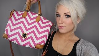 WHATS IN MY PURSE | DOONEY & BOURKE REVIEW