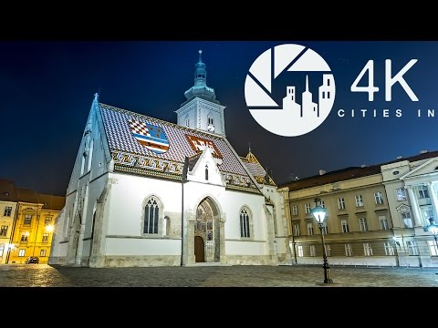 A 4K Tour of Zagreb
