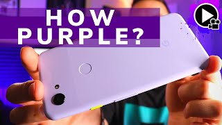 How Purple is the Purplish Google Pixel 3a? An Unboxing & First Impressions!