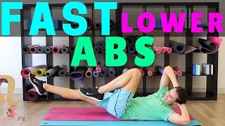 Fast Lower AB Workout by ZacharyFiorido