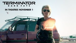 "VIDEO: TERMINATOR: DARK FATE – ""Sarah's Entrance"" Clip"