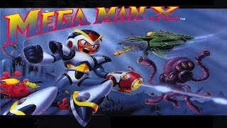 Mega Man X Walkthrough Longplay 100% HD
