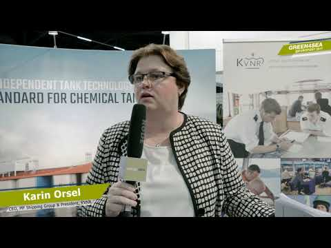 Interview Karin Orsel at Europort 2017