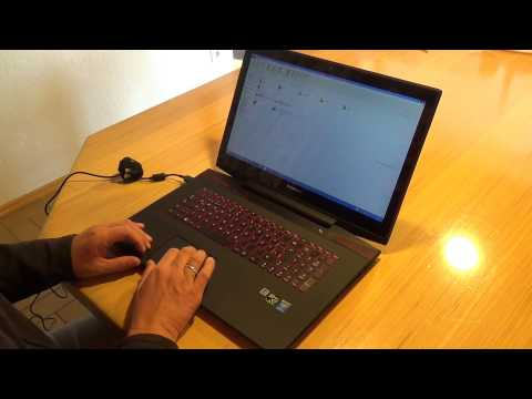 UNBOXING Lenovo Y70-70 Touch (17,3 Zoll FHD IPS Multitouch)