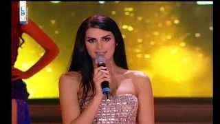 Rouba Monzer Miss Lebanon 2014 Finals