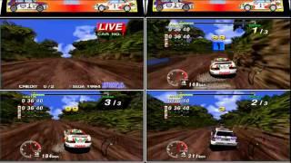 Sega Rally 3 running on TeknoParrot - hmong video