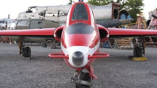 preview picture of video 'Remontage des ailes du Fouga Magister n°208'