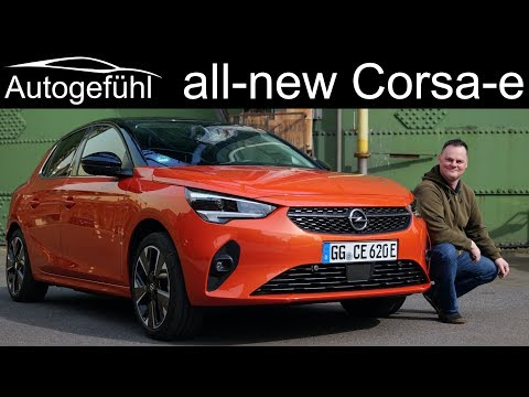 all-new Opel Corsa-e FULL REVIEW - the new small EV for everyone? Vauxhall Corsa e - Autogefühl