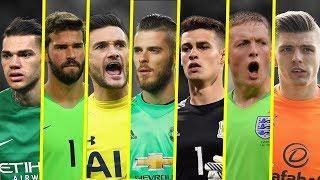 Best Premier League Goalkeepers - Amazing Saves - 2018 - HD