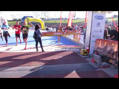 Llegada campeona 10km