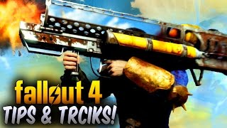 Fallout 4 Best Start for Weapons, Armor & More ! (Fallout 4 Secrets & Tips)