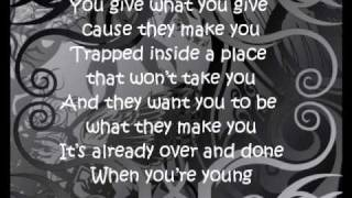 When You're Young - 3 Doors Down Lyrics