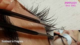 Jinnylash Eyelash Extensions Training & Treatment