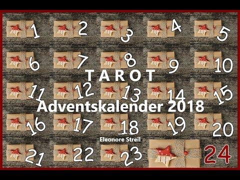 Tarot Adventskalender -  4.Türchen (видео)