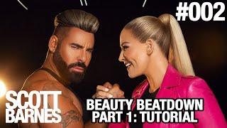Scott Barnes TV #002 - Beauty Beatdown Part 1: Full Makeup Tutorial WWE Star Natalya