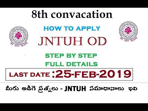 jntuh-od-tatkal-videos