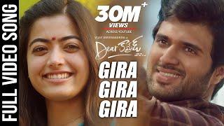 Dear Comrade Telugu - Gira Gira Video Song | Vijay Deverakonda | Rashmika | Bharat Kamma