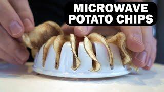 Microwave Potato Chips? Gadget vs Recipe!