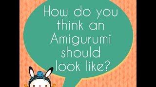 Amigurumi research update: Week 1 - What should an Amigurumi look like?