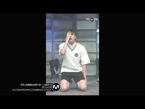 [MPD직캠] 방탄소년단 진 직캠 I NEED U BTS JIN Fancam Mnet MCOUNTDOWN 150430