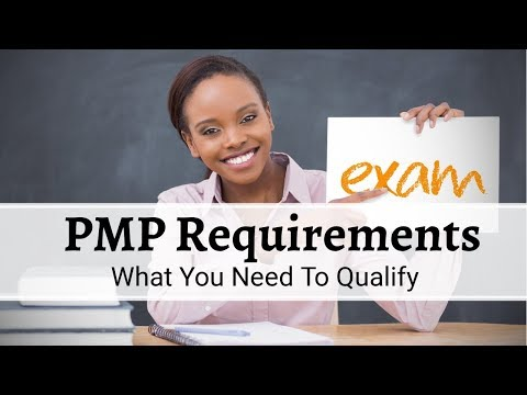 PMP Requirements - YouTube