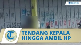 Viral Video 2 Remaja Dianiaya di Tempat Ramai, Kepala Ditendang 4 Kali hingga Ponsel Korban Dirampas