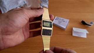 e8d3e8c75c8 Calculator Databank Gold Watches CASIO DBC-611G-1DF
