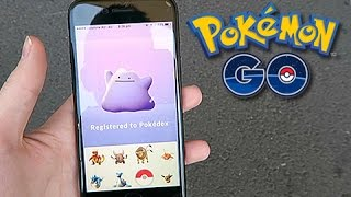 Ditto  - (Pokémon) - Catching Ditto In Pokemon GO (100% REAL)