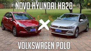 Novo Hyundai HB20 x Volkswagen Polo