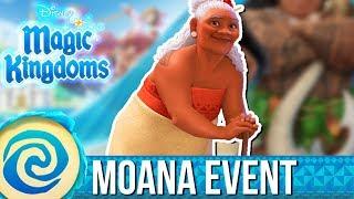 LET'S WELCOME GRAMMA TALA   Disney Magic Kingdoms   Moana Event   #1
