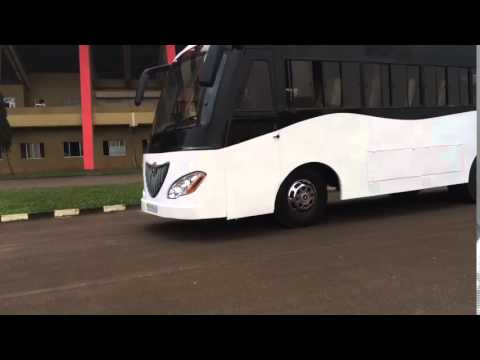 Sun Energy: Solar-powered bus launched in Africa