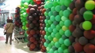 preview picture of video 'Jungle Mystérieuse, décor ballons'