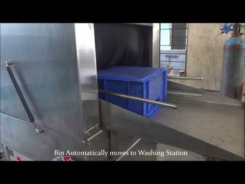 Crate Washer Machine