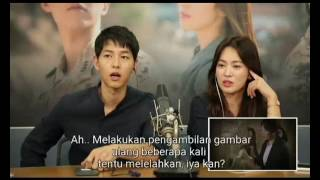 Descendant of the Sun Couple Commentary sub Indonesia - Tembakan Cinta