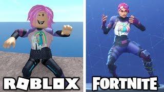 Fortnite Dances In Roblox!
