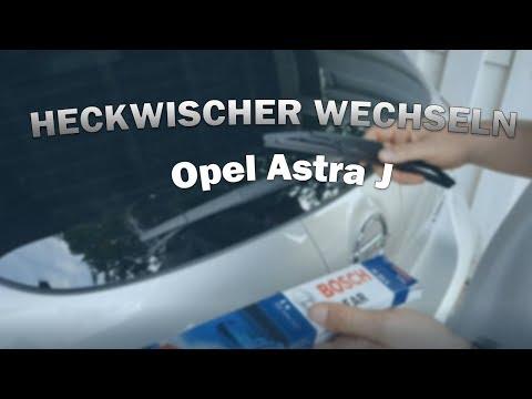 Heckwischer wechseln | Opel Astra J | Franz64